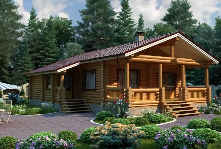 Популярные деревянные дома