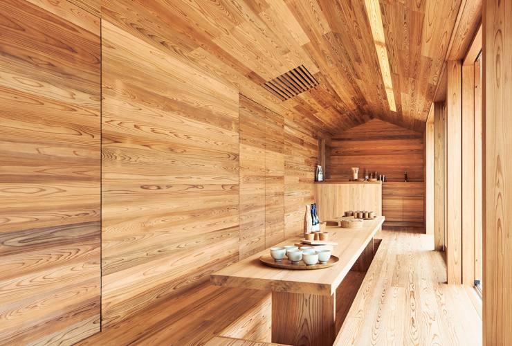 Японские дома из кедра
