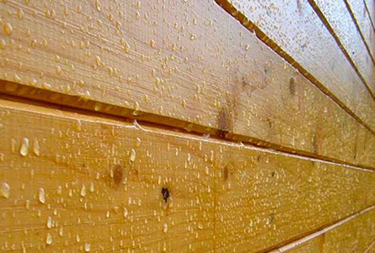 Защита бревна и бруса от влаги