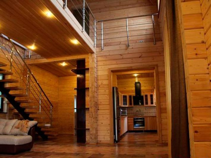 Дом из профилированного бруса экологичен