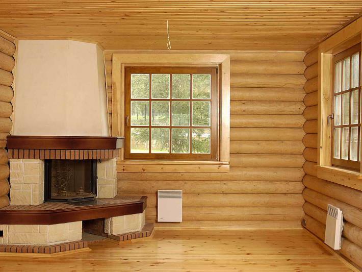 Идеальный микроклимат в рубленном доме