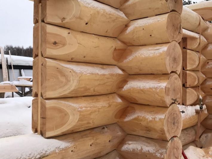 Технология строительства рубленного дома - Канадская чаша